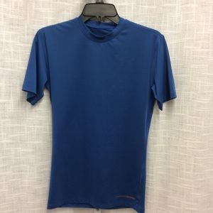 Tommie Copper Royal Blue Shirt Sleeve Top Size M